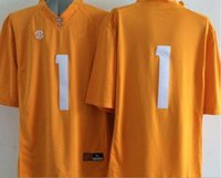 Factory Outlet- Stitched Logo 2015 New Style Tennessee Volunteers # 1 Jalen Hurd Jersey American College Fútbol Jerseys envío gratis