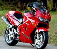 Wholesale Honda Vfr Fairing Kit - 3 Free gifts New ABS Fairing Kits 100% Fit For HONDA VFR800RR 98 99 00 01 VFR800 VFR 800RR 1998 1999 2000 2001 Bodywork set nice buy red