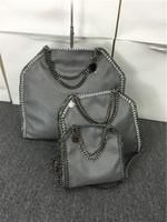 Wholesale Measurements Cm - 809 styles W37cm * H36 cm* D8cm 17 color Women's fold over 3 Chain big size Tote shoulder Bags Measurement :