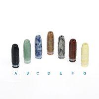 Wholesale Top Mod Vaporizers - Top Quality 510 Wide Bore Drip Tips Jade Bullet Drip Tips for e cigs Atomizers Vape Mods Vaporizers ecigarettes