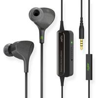 mejores micrófonos de alambre al por mayor-Al por mayor-233621 E602 Lite Best Active inteligente Cancelación de ruido Auriculares HiFi 3.5mm En el oído con cable Super Bass Auricular con micrófono