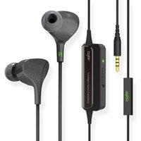 beste drahtmikrofone großhandel-Wholesale-233621 E602 Lite beste aktive intelligente Noise Cancelling Kopfhörer HiFi 3,5 mm In Ohr verdrahtete Super Bass Kopfhörer mit Mikrofon