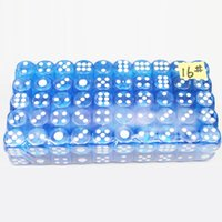 Wholesale Cheap Wholesale Puzzle - 50PCS ,Red Blue Green Digital Dice Puzzle Game Send Children ,4 Sided Die 16mm*16mm Cheap Dice With Free Shipping