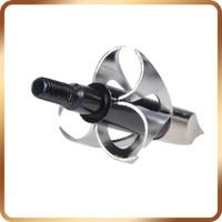 Wholesale broadhead tips - 6pcs Bow And Head Hunting Tips Bow Broadhead 100gr Broadheads ArrowHead Flying Arrow Archery