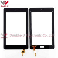 Wholesale Acer New Touch - 5pcs lot Wholesale New Black For Acer Iconia Tablet B1-730HD Touch Screen Glass Digitizer Panel Replacement with Free Shipping