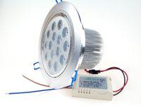 luzes led de 15 watts venda por atacado-Modern recesso LED Teto Holofotes 15 Watts 110 V 220 V para o Restaurante Supermercado Sala de estar Luminária Decoração WW CW CE ROSH