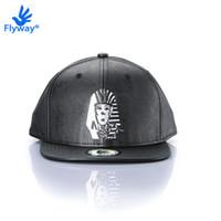 Wholesale Bull Caps - Baseball Cap Snapback Original Black Hip Hop Swag Bulls AJ Casquette NY Gorras LK OG TUT Full Leather Hat