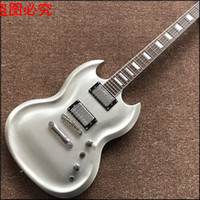 Wholesale Left Handed Chinese Guitars - 2017 New 22 Brazil Wood Chinese Electric Guitars Ukelele Left Handed Guitar Factory Direct Custom Shop Sg- G400 ,real Photos