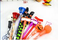 Wholesale Kids Writing Toys - DHL & SF_Express halloween ballpoint pens 2000pcs 19cm length small toy for office art kids halloween gift