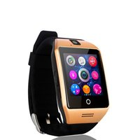 Q18 Smartwatch per telefoni Android Top Quality Wearable Bluetooth Smartwatch multifunzione con fotocamera Originale Q18 Supporto TF SIM card