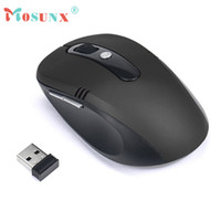 Wholesale Gifts For Gamers - Wholesale- Hot-sale MOSUNX Wireless Gaming Mouse Gifts 2.4GHz Wireless Mouse Gamer USB Optical Scroll Game Mouse For Tablet Laptop Computer