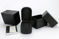Wholesale italian fashion jewelry - Sales Italian Fashion Brand High Quality Watch Box Luxury Quartz Watch Boxes Casual Jewelry Box Black Gift Boxs
