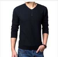 Wholesale Green Cashmere Sweater Dresses - Wholesale-2016 Autumn Winter Brand men Casual sweater mens Cashmere Wool Pullover christmas sweater men Dress Knitted Sweater Clothing