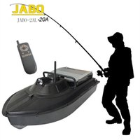 Wholesale fish boat rc - Wholesale-JABO-2AL-20A Pro Wireless RC Fish Finder Fishing Tackle Bait Boat Remote Control
