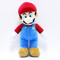 Wholesale Super Mario Brothers Plush - Super Mario Brothers Doll Mario Stuffed Plush Toy Doll Pillow Chidren Doll for Gifts