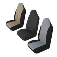 Wholesale car seat front for sale - Group buy TIROL Universal Car Front Rear Durable Waterproof Anti Dust Auto Seat Cover Cushion Protector Pad for Crossovers SUV Sedan