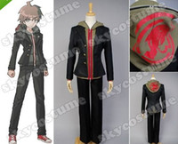 Wholesale Naegi Makoto Cosplay - Wholesale-Danganronpa Dangan-Ronpa Makoto Naegi Cosplay Costume