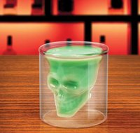 Doomed Crystal Skull Shotglass Tasses Tête Vodka Shot Verre Coupe Bière Vin Whiskey Tasse Drinkware 75 ML 2.5 Onces Cuisine À Manger Bar nouveau