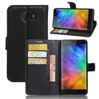 Wholesale Note Ii Wallet - Diforate New Arrival Luxury Leather Wallet Phone Flip Cover Pouch Case For Xiaomi Mi Note 2 Mi Note II