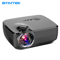 BYINTEK GP70 2017 AM01 AM01S HD LED HDMI USB Video Цифровой домашний кинотеатр Портативный HDMI USB LCD DLP Movie Pico LED Mini Projector