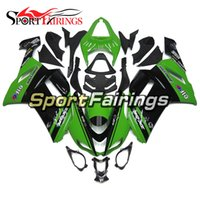 Elf Green Black Инъекционные обтекатели для Kawasaki 636 ZX-6R ZX6R 07 08 2007 - 2008 Sportbike ABS Motorcycle Fairing Kit Body
