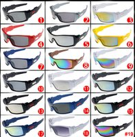 Wholesale Cheap Oval Frames - Hot Cheap Sunglasses 10 Popular Styles Eyewear Big Frame Sun Glasses Brand Designer Sunglasses for Men and Women Glasses Factory Price