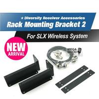supports de câbles achat en gros de-Vente Livraison gratuite! SLX14 / SLX24 Microphone sans fil Support de montage en rack2 90AF8200 Kits de montage en rack pour SLX Microphone sans fil RECEPTEUR