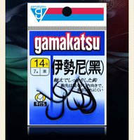 Wholesale Hook Gamakatsu - High Quality Japan Gamakatsu Black Barbed Hooks High Carbon Steel Hooks Super Wearable Sharp Anti -Corrosion Carp Fishing Hooks