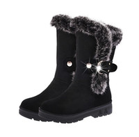 Wholesale Short Boots For Women - Snow Boots Botas femininas Ankle Boots for Women 2016 Fashion Lady Boots Winter Boots Zapatos Mujer Shoes Women's Winter Short plush Boots