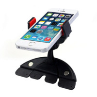 Wholesale Car Suport - Car Phone HolderUniversal 360 Degree Rotation CD Mount Phone Holder Stand Suport For iphone 4s 5C 5S For GalaxyS4 S5 GPS