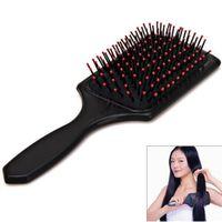 kopfhautpinsel neu großhandel-Heiße Neue Ankunft Mode Praktische Komfortable Gesundheit Breite Zinke Massage Kopfhaut Haarbürste Make-Up Airbag Kamm