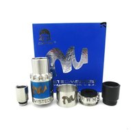 Wholesale V3 Ring - Newest Twisted MessesRDA Atomizer Rebuildable Dripping Vapor Tank with Wide Bore Drip Tip Extra Replacement AFC Rings vs Baal V3 RDA DHL
