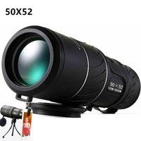 Wholesale Military Hd - High Quality 50x52 Powerful Binoculars Zoom Binocular Field Glasses Great Handheld Telescopes Military HD Professional Hunting