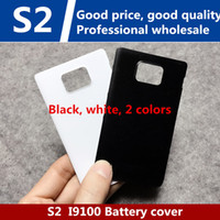 Wholesale Back Cover Battery S2 - High quality for Samsung S2 i9100 back cover GT-i9108 battery back cover i9100G phone back cover shell