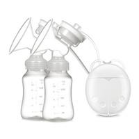 Wholesale Electric Breast Pumps - PP Electric breast pump BPA free material milk pump FDA PP material Easy to assemble silent motor 2112004