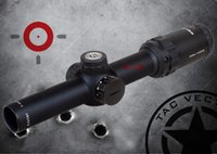 Wholesale Vector Scopes - TAC Vector Optics Arbiter 1-4x24 IR Shooting Rifle Scope Illuminated Red Dot Sight Reticle for Deer Hunting