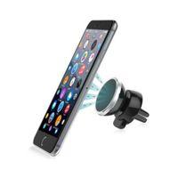 mp3 telefon tutucuları toptan satış-Araba tutucu Evrensel 360 derece rotasyon Manyetik Araba Standları Tutucular Iphone Samsung XIAOMI Cep Telefonu GPS Için Dağı Mıknatıs