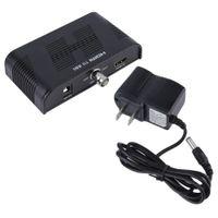 Wholesale hd sdi hdmi converter - Mini 3G HDMI to SDI Converter 1080P SDI 3G-SDI HD-SDI to HDMI Adapter Black US Plug