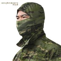 Wholesale Breathable Ski Masks - 2016 New MC Tactical Masks helmet Airsoft Wargame Breathable Dustproof Face Balaclava Unisex headgear Motorcycle Ski Cycling Hunting Hood