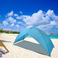 Portatile Beach Tent Sun Shade Shelter Escursioni all'aperto Escursioni Campng Napping
