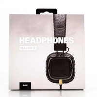 Wholesale Dj Usb Mp3 - 2017 Marshall Major II 2nd Generation headphones With Mic Noise Cancelling Deep Bass Hi-Fi HiFi Headset Professional DJ Monitor Headphone