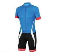 Wholesale Men Cycling Skinsuit - Wholesale-2016 Summer Team Shorts and Tights Cycling Skinsuit Men's Breathable Triathlon Sports Clothing free shipping