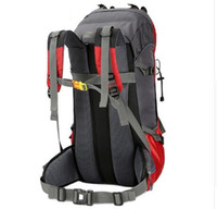 Wholesale Gym Covers - 60L Camping Hiking Backpacks for Climbing Travelling Outdoor Sport Backpack Water Resistant with Rain Cover camping and hiking