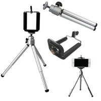 Wholesale Holder Timer - Self-timer Telescopic Tripod Mount Holder Clip For Cell Phone Family Photos