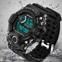 Wholesale Famous Electronics - Fashion Sport Watch Men Top Brand Luxury Famous Electronic LED Digital Wrist Watch Male Clock For Men Hodinky Relogio Masculino