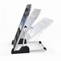 Wholesale Pc Shelf - tablet PC Stand The Tablet Support Bracket Lazy Adjustable Bracket for Flat Shelf Tablet Computer Desktop Tablet PC Mount Holder