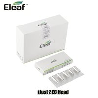 Wholesale S Original - 100% Original Eleaf EC Ceramic Head 0.3 0.5ohm ECL 0.18 0.3ohm dual coils for iJust S 2 Melo Atomizer