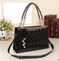 Wholesale Hundreds One Shoulder - 2015 new fashional women handbags Quilted show Ms. female one hundred charm handbag shoulder bag