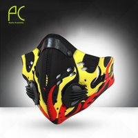 Wholesale Dust Cover Bike - Wholesale-2016 NEW Activated Carbon Haze Anti-dust Filter Breathable Bike Bicycle Cycling Face Cover Protection Mouth-Muffle Dust Mask