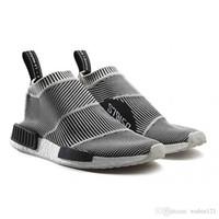 Wholesale vintage sport socks - Hot Nmd City Sock Men Women Shoe,Men NMD CS1 City Sock PK (Core Black Vintage White Ftwr White Casual Sports Shoes S79150 Footwear Eur 36-45